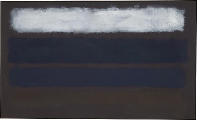 No. 14 (Horizontals, White over Darks)