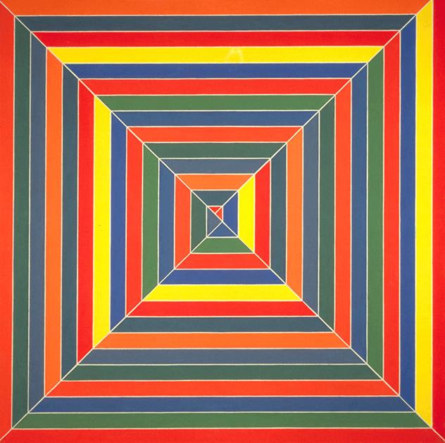 Frank Stella, Hypena Stomp, 1962, Tate, London.