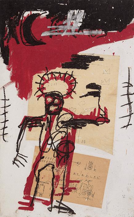 Jean-Michel Basquiat, Untitled, 1982.