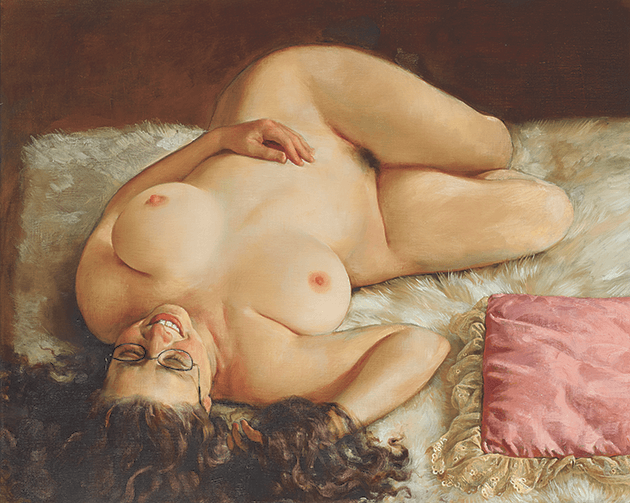 ohn Currin, Amanda, 2003, Image ©PHILLIPS, Artwork: ©John Currin