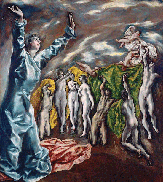 El Greco, The Vision of Saint John, circa 1608-1614. The Metropolitan Museum of Art, New York, mage copyright © The Metropolitan Museum of Art. Image source: Art Resource, NY