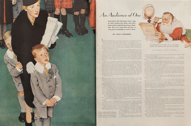 An Audience of One published in Ladies' Home Journal, 1938.