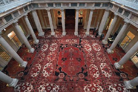 Installation view of Rudolf Stingel's exhibition at Palazzo Grassi, 5 April – 31 December 2013. Photo: Barbara Zanon/Getty Images.