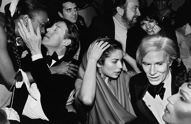 Andy Warhol, Halston, Jack Jr. Haley [& Wife], Liza Minnelli and Bianca Jagger at Studio 54 by Robin Platzer © The LIFE Images Collection/Getty Images