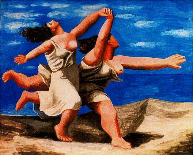 Pablo Picasso, Two Women Running on the Beach (The Race), 1922