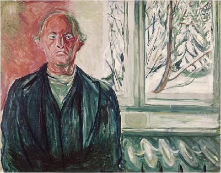 Edvard Munch Self-Portrait by the Window