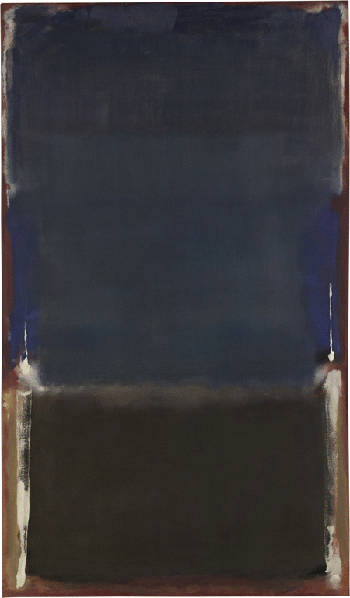 Mark Rothko,Untitled, 1949, oil and acrylic with powdered pigments on canvas, Metropolitan Museum of Art, New York. © 1998 Kate Rothko Prizel & Christopher Rothko ARS, NY and DACS, London. Image: The Metropolitan Museum of Art/Art Resource/Scala, Florence.