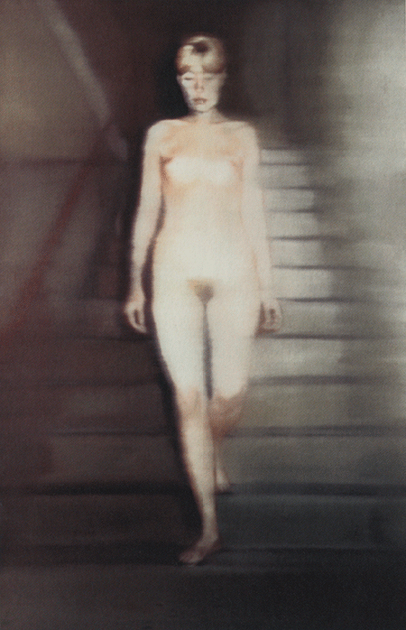 Gerhard Richter, Ema (Nude on a Staircase), 1992, cibachrome photograph mounted on alucobond plate, Dallas Museum of Art, Texas. © Gerhard Richter. Courtesy the artist and Marian Goodman Gallery. Image: Bridgeman Images.