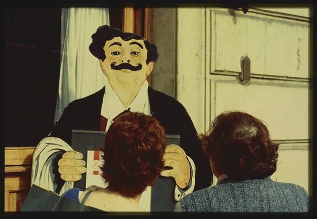 Spain, 1997, 35mm color slide. Photo: Robert Rauschenberg, Courtesy of the Robert Rauschenberg Foundation, New York