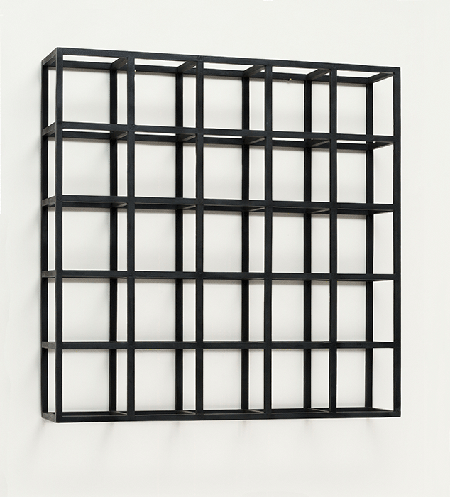 Cubic-Modular Wall Structure, Black