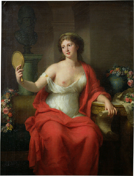 Marie Genevieve Bouliard, Consort of Pericles, leader of Athens, 1794, oil on canvas, Musee des Beaux-Arts, Arras. Image: Bridgeman Images.