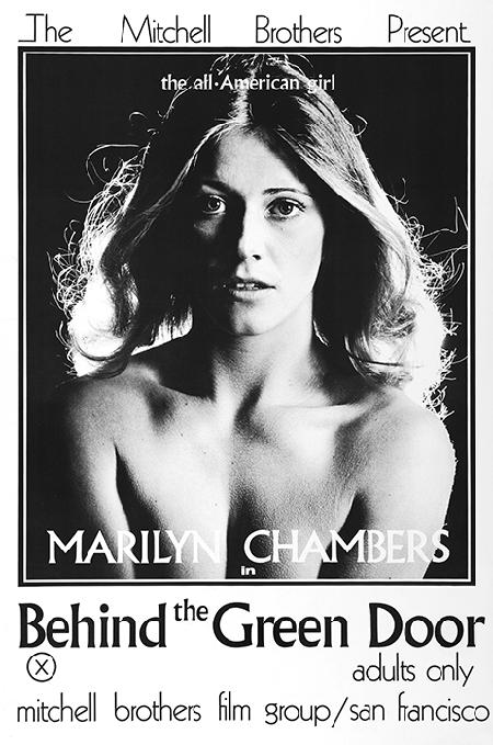 Film poster for Behind the Green Door, 1972