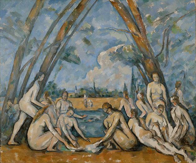 Paul Cézanne, The Bathers, 1898-1905. Philadelphia Museum of Art.