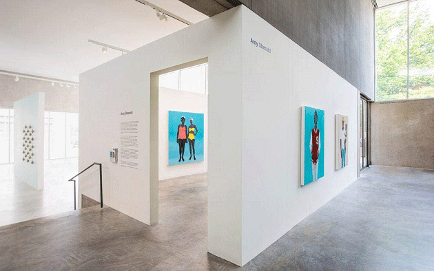 The present lot installed at Amy Sherald, Contemporary Art Museum St. Louis, May 11 – August 19, 2018.
