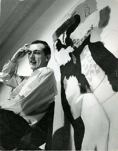 Allen Jones by Jorge Lewinski, 1960's.