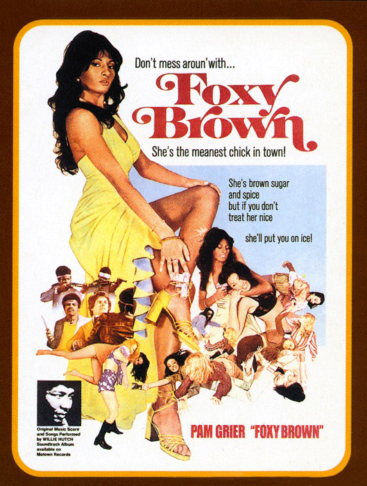 Movie poster for Foxy Brown, 1974.