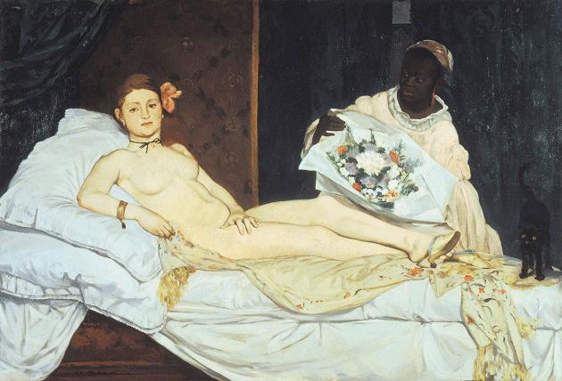 Edouard Manet, Olympia, 1863-1965.