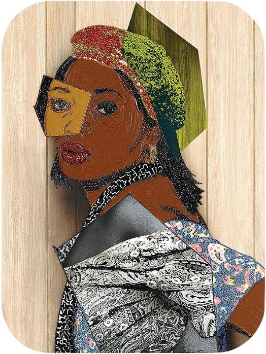 Portrait of Qusuquzah #6, 2015.