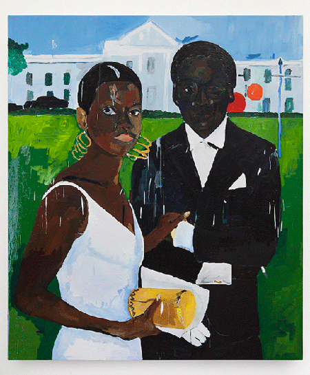 Cicely and Miles Visit the Obamas, 2017