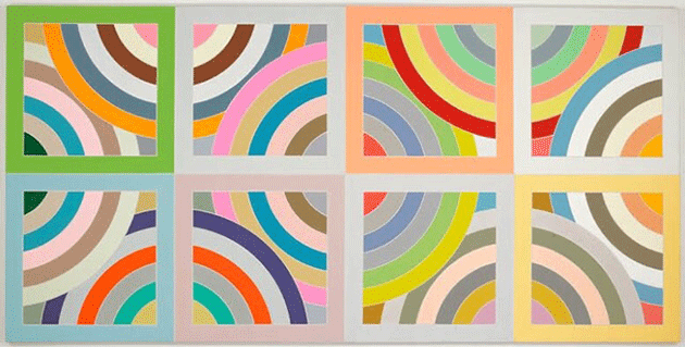 Frank Stella, Tahkt-I-Sulayman Variation II, 1969. Collection of the Minneapolis