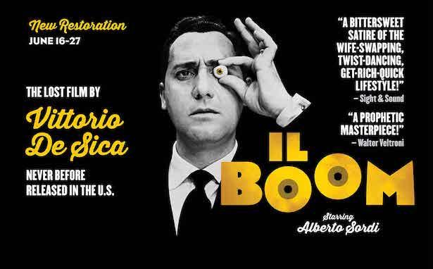 Film poster forIl Boom, 1964.
