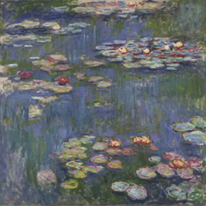 Claude Monet, Water Lilies, 1916, Collection of The National Museum of Western Art, Tokyo