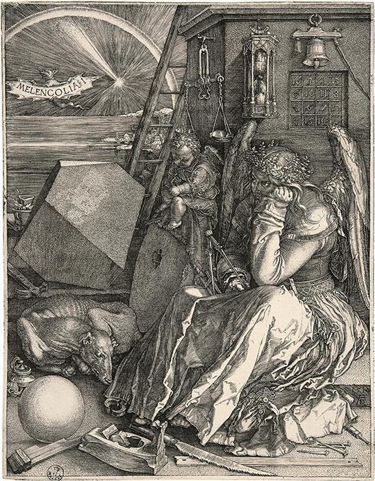 Albrecht Dürer, Melancholia I, 1514