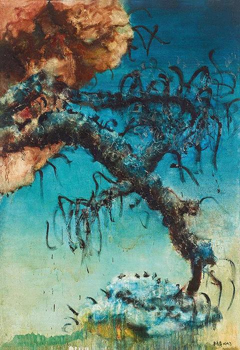 Zhou Chunya, China Scenery, 1993