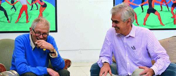 David Hockney and Martin Gayford.