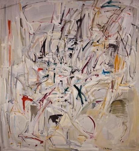 Untitled, 1952-1953. Crystal Bridges Museum of American Art, Bentonville, Arkansas. © Estate of Joan Mitchell