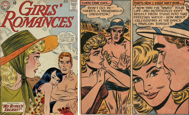 Girls' Romances, August 1963. Arleigh Publishing Corp.
