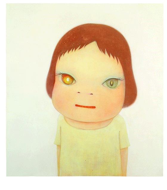 Yoshitomo Nara, Missing in Action–Girl Meets Boy–, 2005. Collection of Hiroshima City Museum of Contemporary Art © Yoshitomo Nara