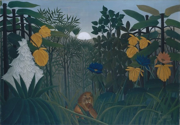 Henri Rousseau, The Repast of the Lion, circa 1907. The Metropolitan Museum of Art, New York, Image copyright © The Metropolitan Museum of Art. Image source: Art Resource, NY