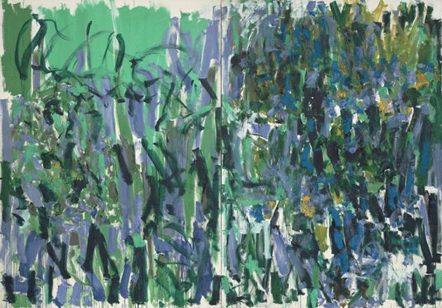 Joan Mitchell, No Rain, 1976. Museum of Modern Art, New York, Digital Image © The Museum of Modern Art/Licensed by SCALA / Art Resource, NY, Artwork © Estate of Joan Mitchell