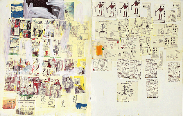 Jean-Michel Basquiat, MP, 1984-1985, Estate of Jean-Michel Basquiat. Artwork © Estate of Jean-Michel Basquiat. Licensed by Artestar, New York