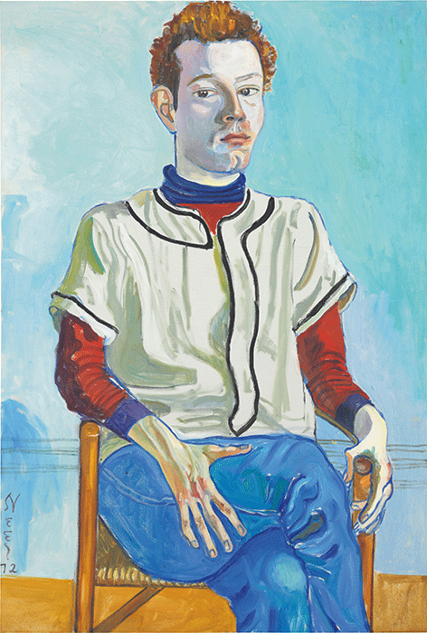 Alice Neel, Jackie Curtis as a Boy, 1972, oil on canvas, Private Collection. Image: Bridgeman Images. ©Estate of Alice Neel, Collection of John Cheim, Courtesy Cheim & Read, New York.