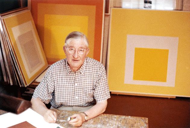 Portrait of the artist.