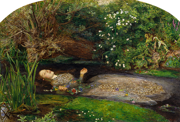 William Holman Hunt, The Awakening Conscience, 1853, oil on canvas, Tate, London. Image: © Tate.