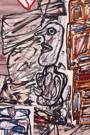 Detail of present work.