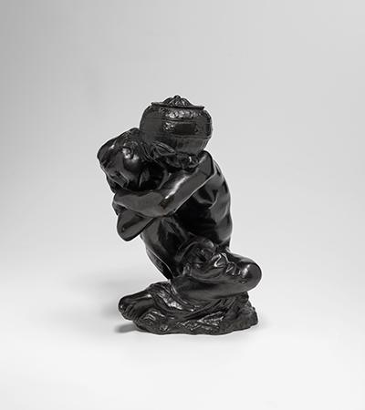Lot 194, August Rodin, Cariatide à l'Urne, taille originale dite aussi petit modèle, 1881–1882/1977