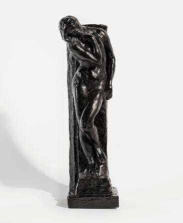 Lot 196, August Rodin, Étude pour Eve au pilier, 1912/1978