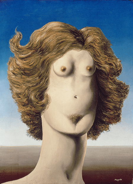 René Magritte, Rape, 1934. The Menil Collection, Houston, Image: Banque d'Images, ADAGP / Art Resource, NY, Artwork: © 2021 C. Herscovici, Brussels / Artists Rights Society (ARS), New York
