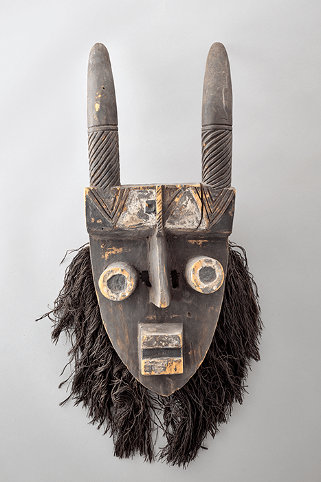 Grebo Ethnie Grebo Mask. Undated, from Ivory Coast. From Pablo Picasso's personal collection. Photo © RMN-Grand Palais (Musée national Picasso-Paris) / Adrien Didierjean