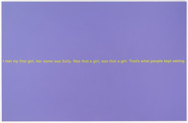 Richard Prince, Was That a Girl, 1989, Walker Art Center, Minneapolis, Image: T. B. Walker Acquisition Fund, 2002 Artwork: ©Richard Prince