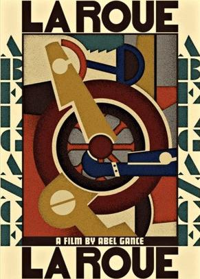 Fernand Léger, poster for Abel Gance's La Roue, 1923.