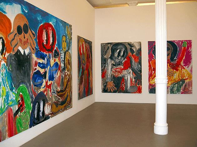 nstallation View of the present work in the 2003 Galarie Max Hetzler exhibition Chips und Pepsi und Medizin Courtesy Galerie Max Hetzler, Berlin | Paris | London