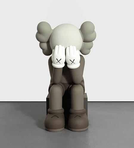 KAWS, Companion (Passing Through), 2011, sold at Phillips, 13 November 2019 © KAWS