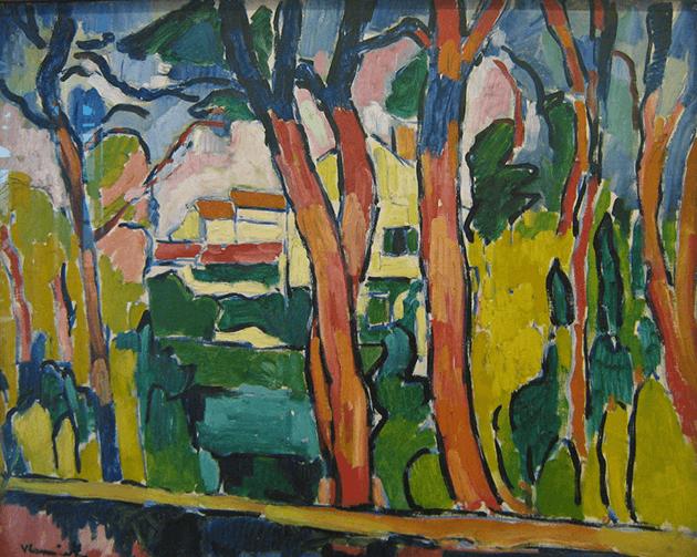 Maurice de Vlaminck, Les arbes rouges, 1906, Centre Pompidou, Paris