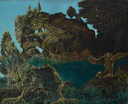 Max Ernst, Swampangel, 1940, Fondation Beyeler, Riehen/Basel © 2021, ProLitteris, Zurich / Photo: Robert Bayer © ADAGP, Paris and DACS, London 2021