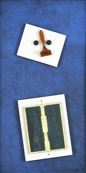 Max Ernst,Portrait de Ernst Wilhelm Leberecht Tempel, 1965. Offered concurrently by Phillips in our New York Evening Sale next month